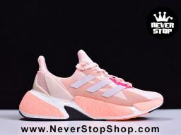 Giày thể thao Adidas X9000L4 Boost Hồng Trắng nam nữ hàng chuẩn sfake replica 1:1 real chính hãng giá rẻ tốt nhất HCM Quận 3
