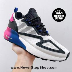 Adidas ZX 2K Boost White Blue Pink