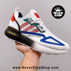Adidas ZX 2K Boost White Red Stripes