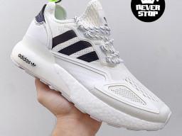 Giày thể thao Adidas ZX 2K Boost Trắng nam nữ hàng chuẩn sfake replica 1:1 real chính hãng giá rẻ tốt nhất tại NeverStopShop.com HCM