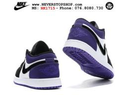 Giày Nike Jordan 1 Low Black Purple nam nữ hàng chuẩn sfake replica 1:1 real chính hãng giá rẻ tốt nhất tại NeverStopShop.com HCM