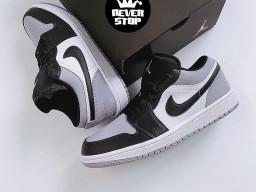 Giày Nike Jordan 1 Low Grey Toe nam nữ hàng chuẩn sfake replica 1:1 real chính hãng giá rẻ tốt nhất tại NeverStopShop.com HCM