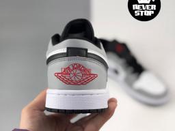 Giày Nike Jordan 1 Low Xám Trắng nam nữ hàng chuẩn sfake replica 1:1 real chính hãng giá rẻ tốt nhất tại NeverStopShop.com HCM