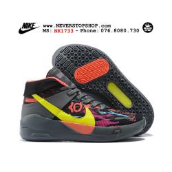 Nike KD 13 Black Grey Yellow