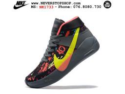 Giày Nike KD 13 Đen Cam Vàng hàng chuẩn sfake replica 1:1 real chính hãng giá rẻ tốt nhất tại NeverStopShop.com HCM
