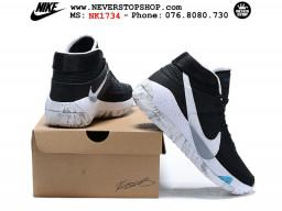Giày Nike KD 13 Đen Trắng hàng chuẩn sfake replica 1:1 real chính hãng giá rẻ tốt nhất tại NeverStopShop.com HCM