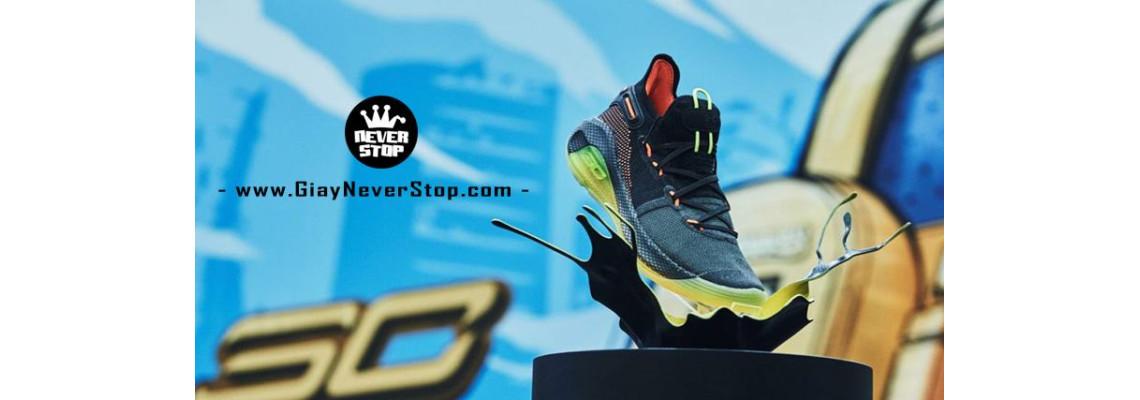 Giới thiệu giày Under Armour Curry 6 với bộ đệm HOVR hoàn toàn mới