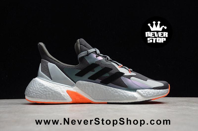 Giày Adidas X9000L4 Boost Xám Cam mẫu mới full size nam nữ cổ thấp hàng sfake replica giá rẻ HCM