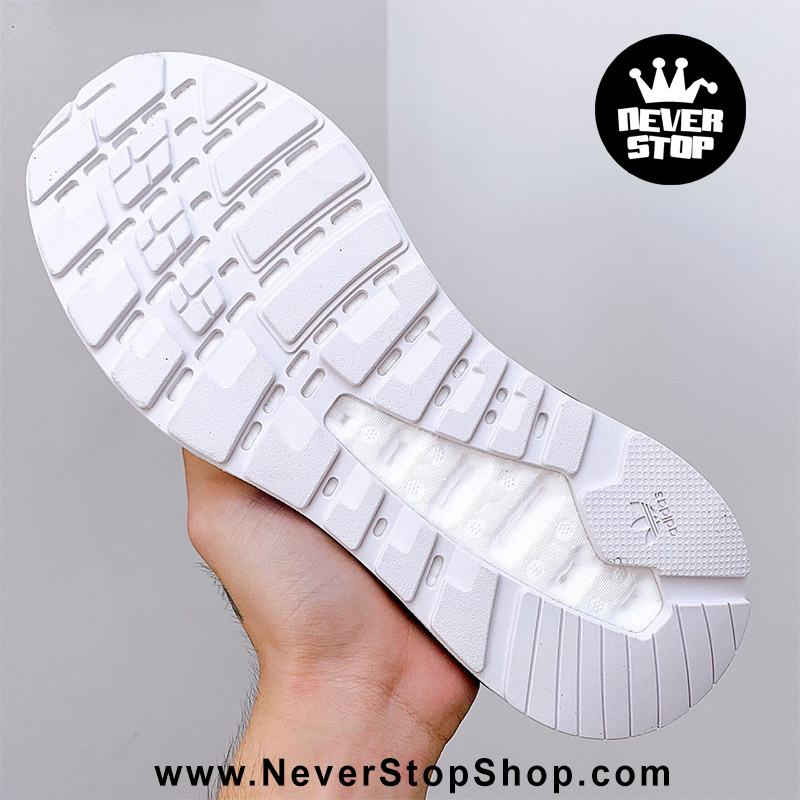 Giày thể thao Adidas ZX 2K Boost Xanh Trắng chuyên chạy bộ tập gym, nam nữ sfake replica giá rẻ tốt nhất HCM
