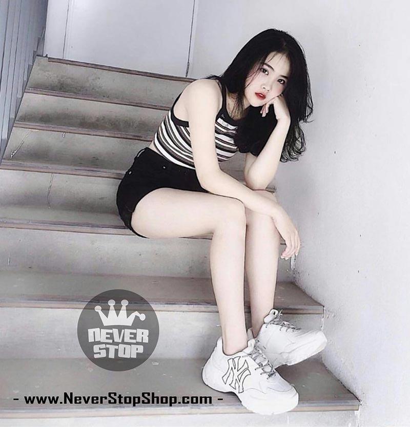 Giày MLB Yankees NY korea hàn quốc nam nữ sfake replica chính hãng giá rẻ HCM