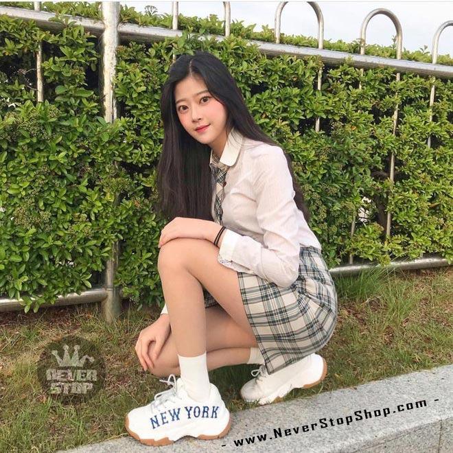 Giày MLB Yankees New York korea hàn quốc nam nữ sfake replica chính hãng giá rẻ HCM