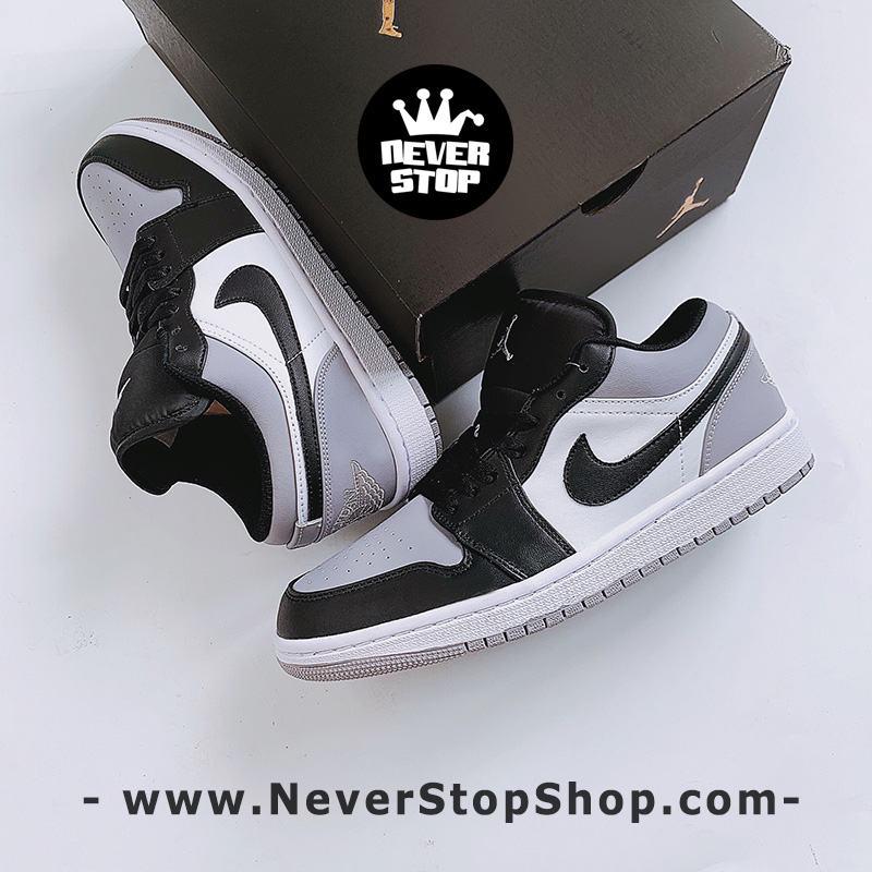 Giày bóng rổ NIKE AIR JORDAN 1 LOW GREY TOE nam nữ hàng đẹp chuẩn sfake replica giá rẻ tốt nhất HCM