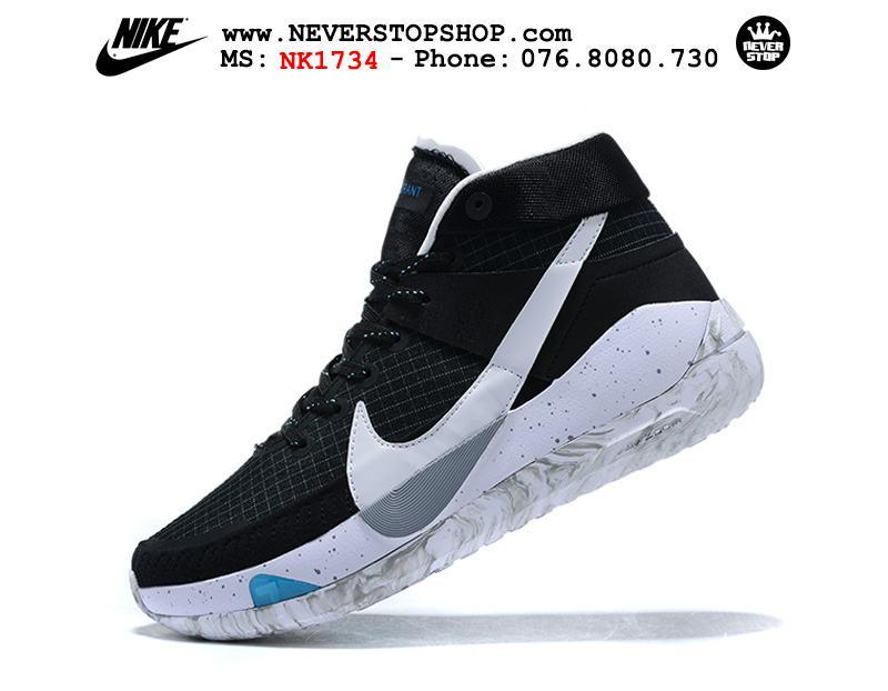 Giày bóng rổ NIKE KD 13 Black White hàng đẹp chuẩn sfake replica giá rẻ tốt nhất HCM
