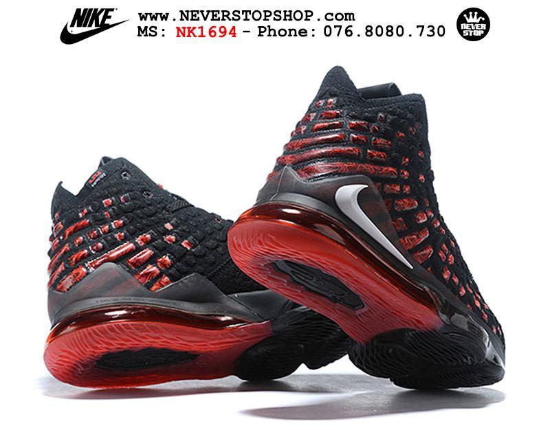 Giày bóng rổ NIKE LEBRON 17 INFRARED hàng đẹp chuẩn sfake replica giá rẻ tốt nhất HCM