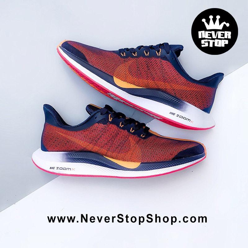 Giày chạy bộ Nike Air Zoom Pegasus 35 Turbo Đỏ Xanh nam nữ sfake replica giá rẻ tốt nhất HCM
