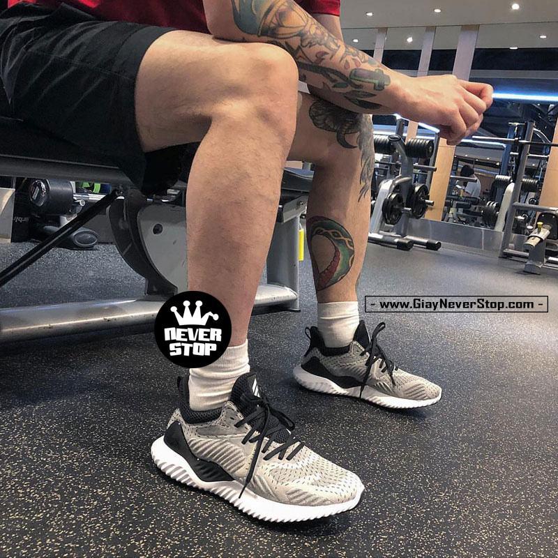 Giày Adidas Alphabounce Beyond nam nữ thể thao chạy bộ sfake giá tốt NeverStopShop