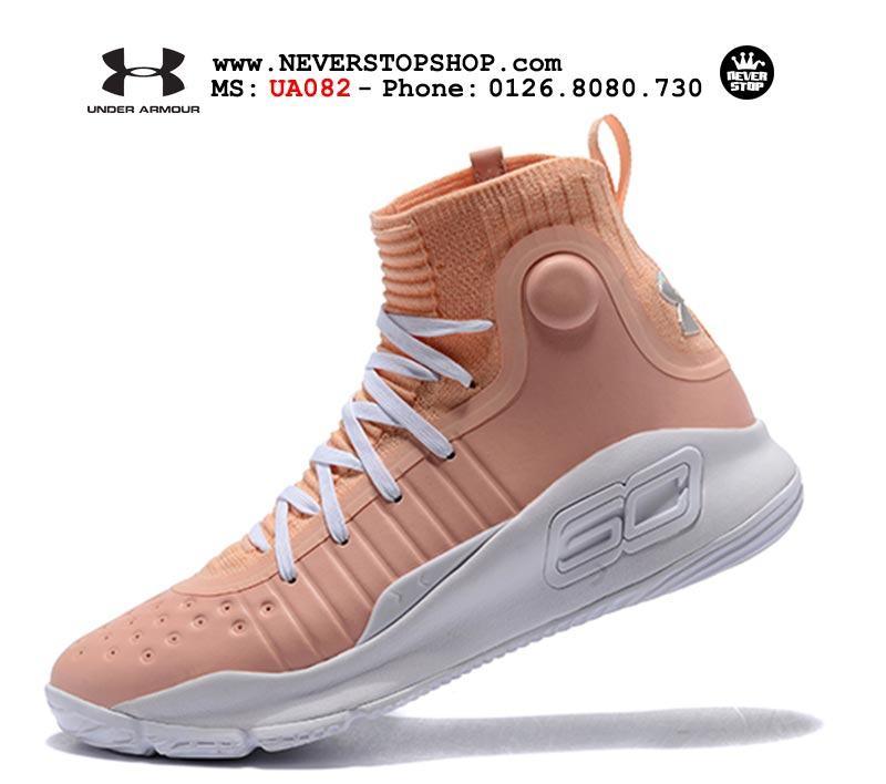 the best attitude 936e8 32510 Under Armour Curry 4 Flushed Pink (UA082) - NeverStopShop.Com