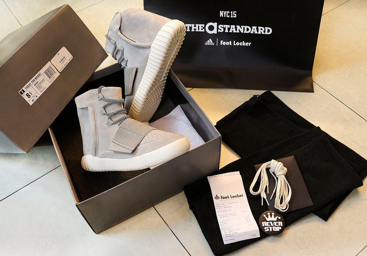 Giày Adidas Yeezy Boost 750 Kanye West giá tốt fullbox