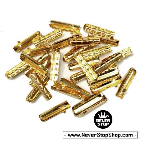 Aglets, lacetips, đầu mút dây giày kim loại inox vàng, bạc, đồng, đen cực đẹp, giá rẻ nhất HCM