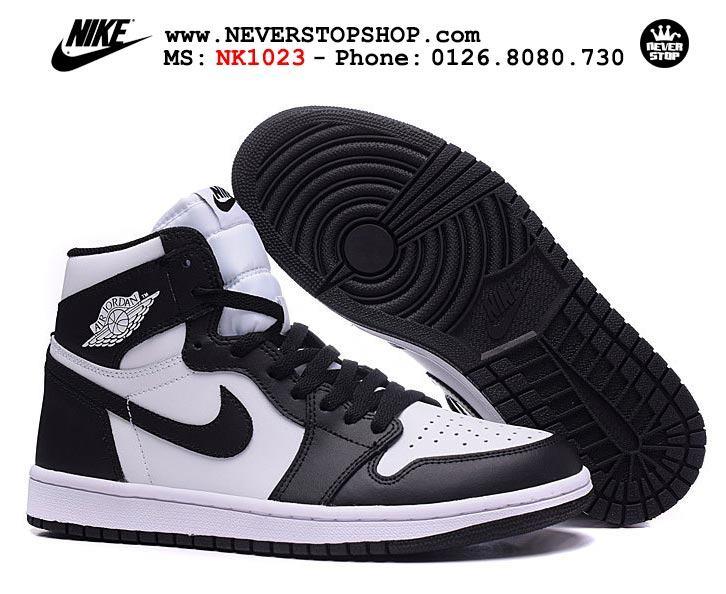 Giày Nike Jordan 1 trắng đen nam nữ sfake replica giá rẻ tốt nhất HCM 2017