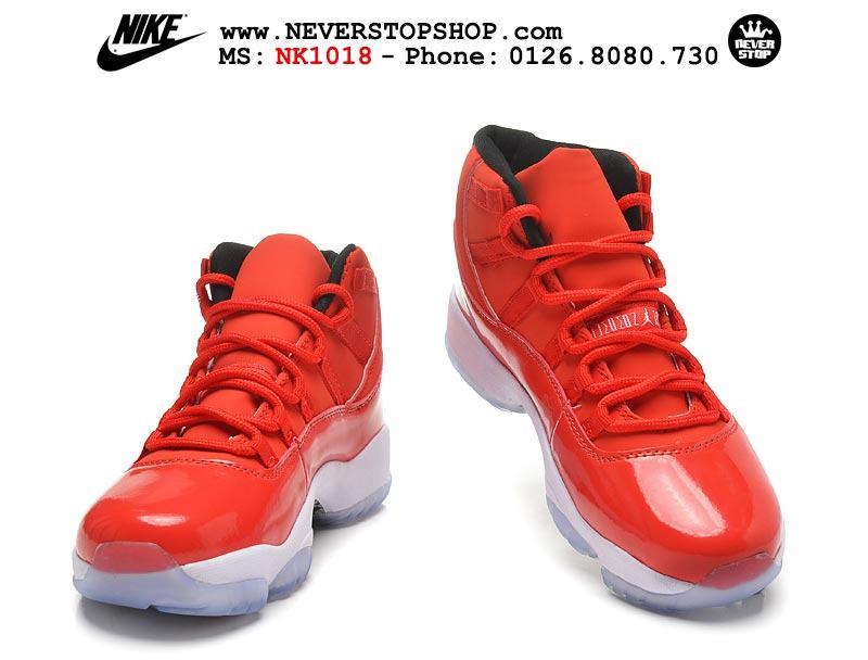 Giày Nike Jordan 11 Red hàng sfake chuẩn đẹp giá tốt nhất