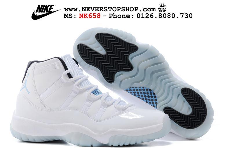 Giày thể thao Nike Jordan 11 bóng rổ hàng đẹp chuẩn super fake, replica, giá rẻ tốt nhất HCM