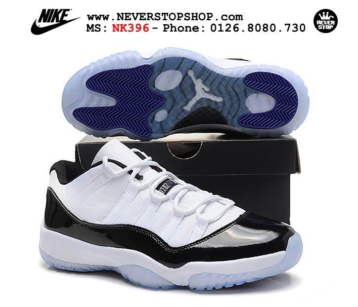 Giày Nike Jordan 11 Low Concord hàng đẹp chất lượng giá rẻ nhất