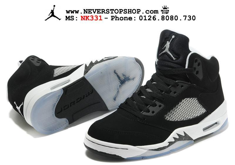 Giày thể thao nam nữ Nike Jordan 5 thời trang đẹp chuẩn sfake, giá rẻ tốt HCM