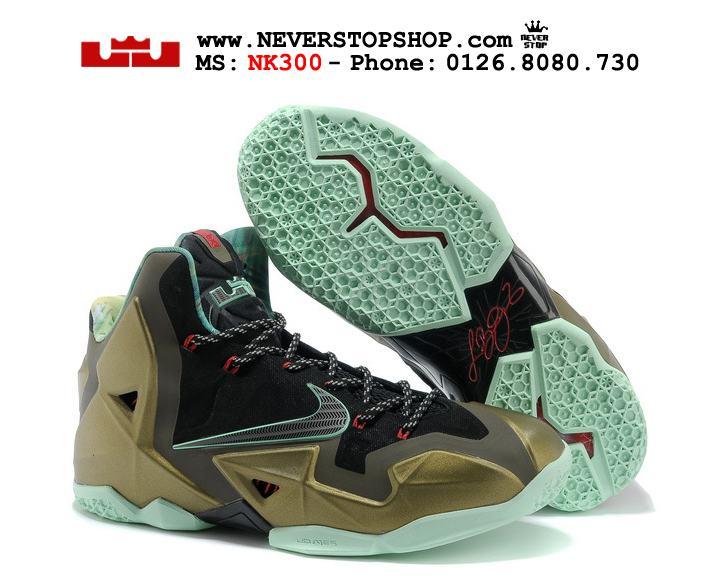 Giày bóng rổ Nike Lebron 11 King Pride chất lượng cao đẹp giá rẻ HCM 2017