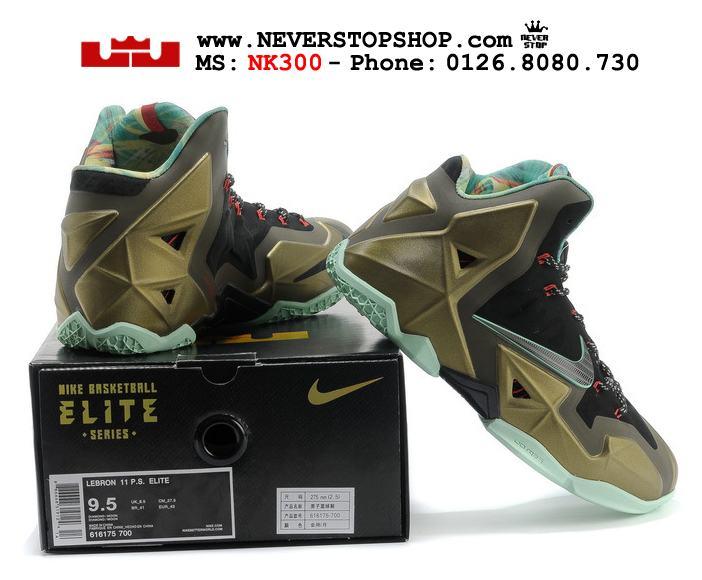 Giày thể thao Nike Lebron 11 King Prider bóng rổ sfake replica chuẩn, shop giày bóng rổ HCM 2017