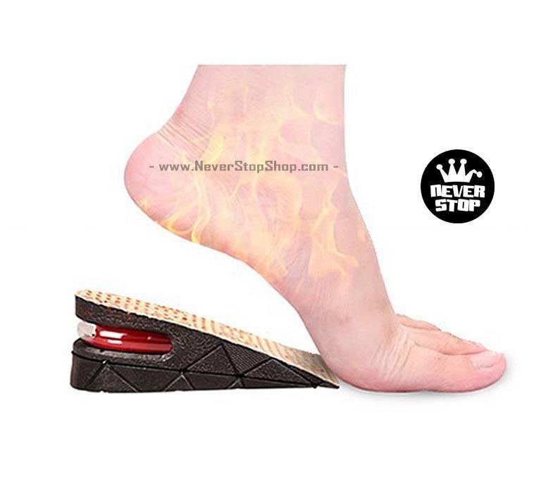 Lót giày tăng chiều cao nam nữ giá rẻ tốt nhất HCM