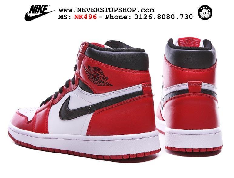 Giày thể thao Nike Jordan 1 Chicago trắng đỏ sfake replica giá rẻ nhất HCM