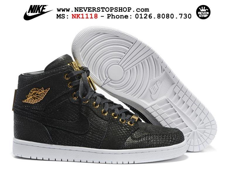 Giày Nike Air Jordan 1 cổ cao nam nữ hàng super fake replica giá rẻ tốt nhất HCM
