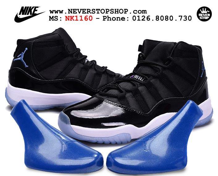 Giày Nike Jordan 11 Space Jam real vnxk sfake replica giá rẻ tốt nhất HCM