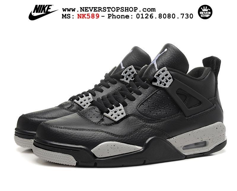 Giày thể thao nam nữ Nike Jordan 4 hàng đẹp chuẩn super fake giá rẻ nhất HCM