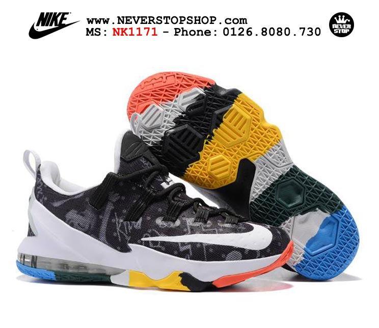 Giày bóng rổ Nike Lebron 13 Low What The chất lượng cao chuẩn sfake, giá rẻ HCM